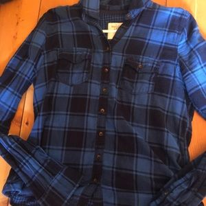 Great Abercrombie and Fitch flannel